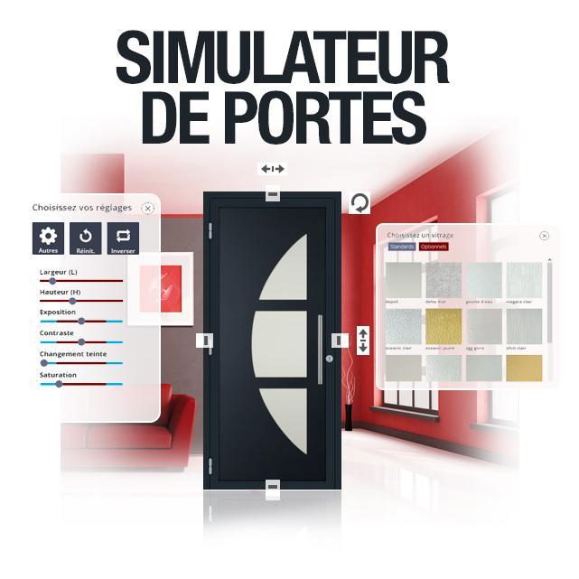 Porte À Panneau Déco - Cegisol Shuller, Fabricant De Fenêtres Pvc